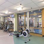 Walsall Gala Baths gymnasium.