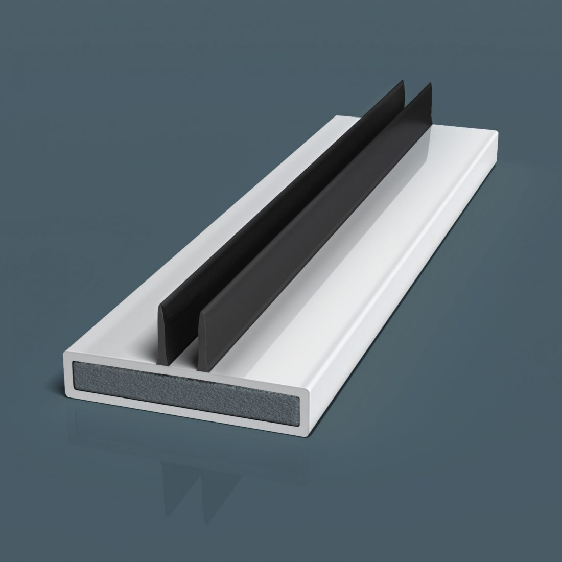 Flexifin Extruded Twin Centre Blade 500 Illustration
