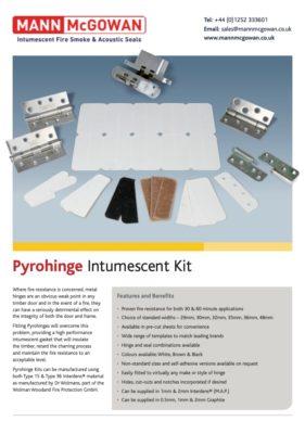 Pyrohinge Intumescent Kit
