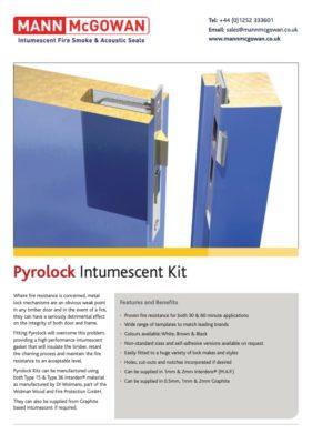 Pyrolock Intumescent Kit
