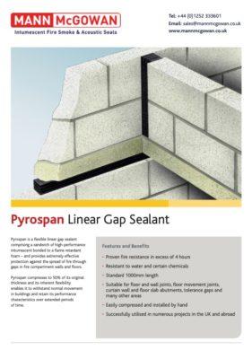 Pyrospan Linear Gap Sealent