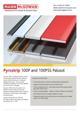 Pyrostrip 100P and 100PSS Graphite